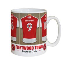 Personalised Fleetwood Town FC Dressing Room Mug
