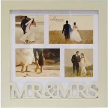 Mr and Mrs Collage Photo Frame