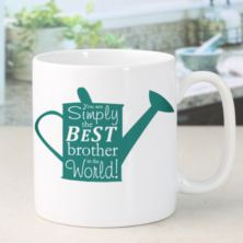 Personalised Simply The Best Watering Can Design Mug