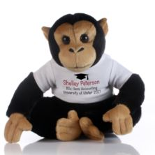 Graduation Message Monkey