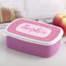 Personalised Girls Name Lunch Box