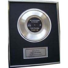 Personalised Gold Disc
