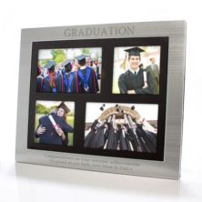 Graduation Engraved Collage Photo Frame