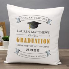 Personalised Graduation Cushion