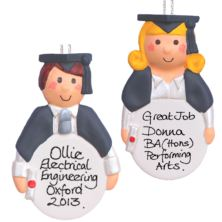 Personalised Graduation Hanging Ornament