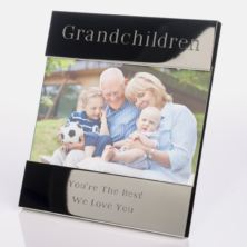 Engraved Grandchildren Photo Frame