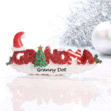 Personalised Grandma Hanging Ornament