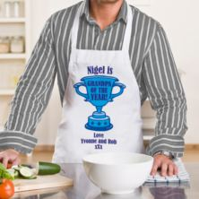 Grandpa of the Year Personalised Apron