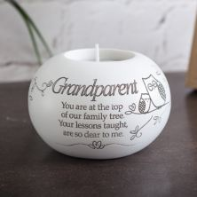 Grandparent Tea Light Holder