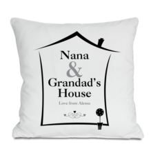 Grandparents House Personalised Cushion