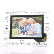 Grandparents Glass Photo Frame