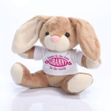 The Best Granny in the World Personalised Bunny Rabbit