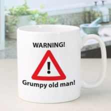 Personalised Grumpy Old Man Mug