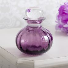 Dartington Bijou Crystal Bottle Amethyst