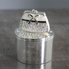 Personalised Handbag Trinket Box