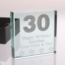 30th Birthday Keepsake