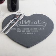 Personalised Mother's Day Slate Placemat