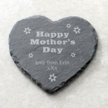 Happy Mothers Day Personalised Slate Coaster