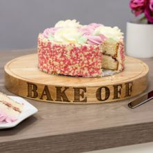 'Bake Off' Carved Cake Board