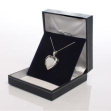 Solid Silver Heart Locket With Personalised Gift Box