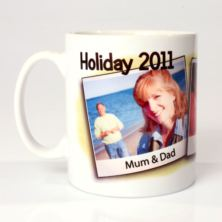 Personalised Beach Holiday Mug