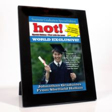 Personalised Graduation Magazine Cover - Male