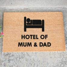 Hotel Mum and Dad Doormat