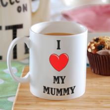 I Heart My Mummy Mug