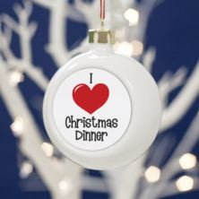 I Love.... Personalised Bauble