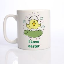 I Love Easter Personalised Mug