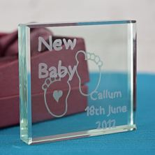 New Baby Keepsake
