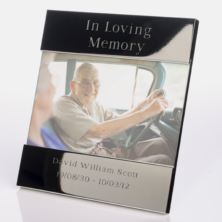 In Loving Memory Engraved Photo Frame