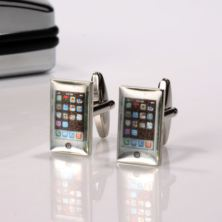 Personalised Smart Phone Cufflinks