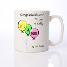 Its a Girl Personalised Mug