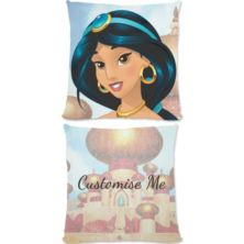 Personalised Disney Princess Jasmine Large Cushion