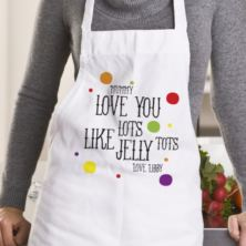 Personalised Jelly Tots Apron