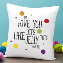 Personalised Jelly Tots Cushion