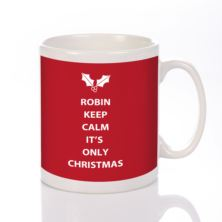 Keep Calm Christmas Mug