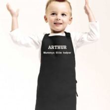 Personalised Embroidered Child's Bib Apron
