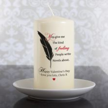 Personalised Kind Of Feeling Candle