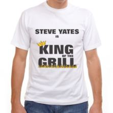 King of the Grill Personalised T-Shirt