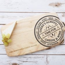 Personalised Wooden Cheeseboard Paddle