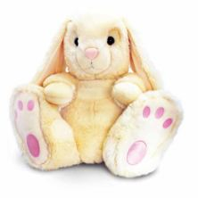 Large Cream Patchfoot Rabbit