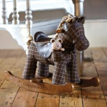 Personalised Rufus & Ted Rocking Horse