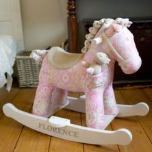 Personalised Pixie & Fluff Rocking Horse
