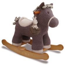 Personalised Bobble & Pip Rocking Horse