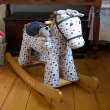 Personalised Dylan And Boo Rocking Horse