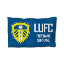 Personalised Leeds United FC Crest Pillowcase