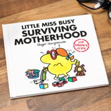 Mr Men : Little Miss Busy Surviving Motherhood Book