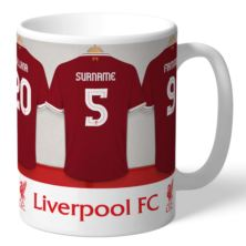Personalised Liverpool Dressing Room Mug